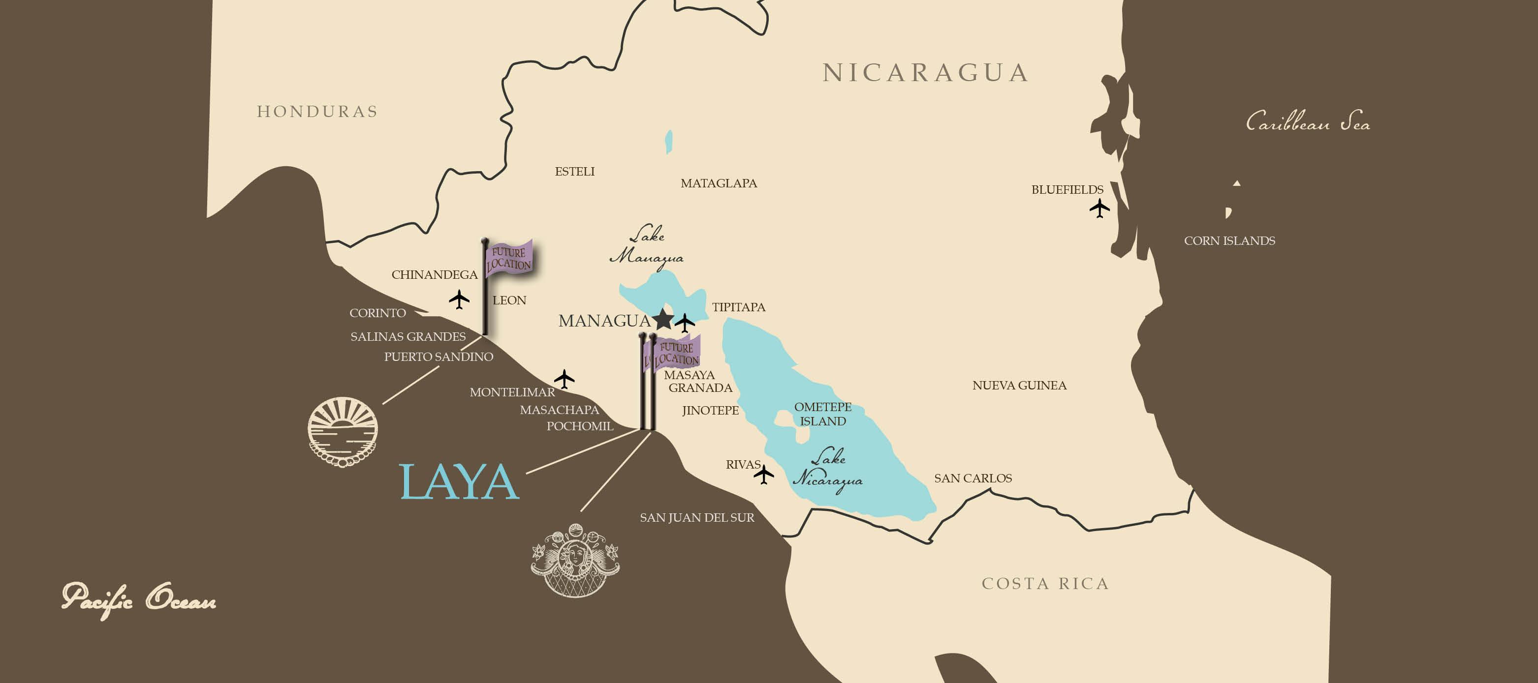 Grupo Mariana Resort Locations in Nicaragua