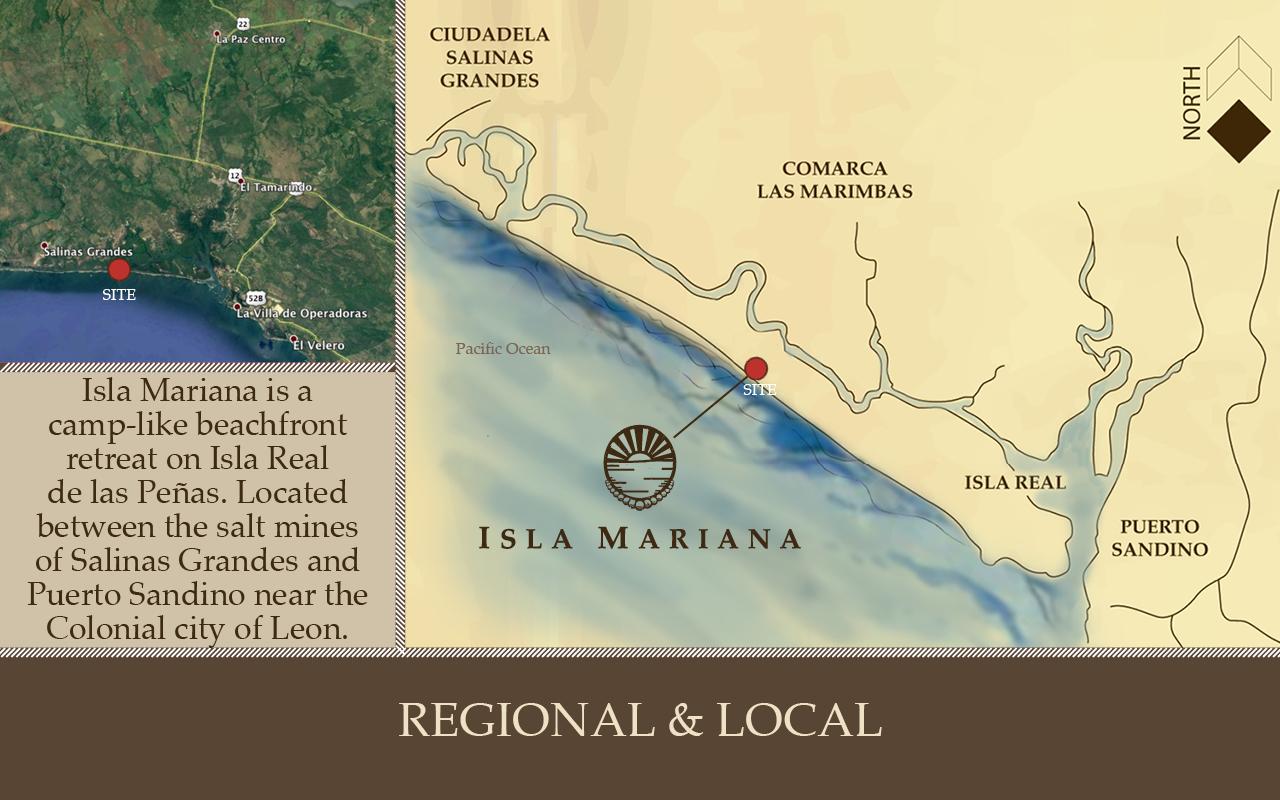 Isla Mariana Island Location