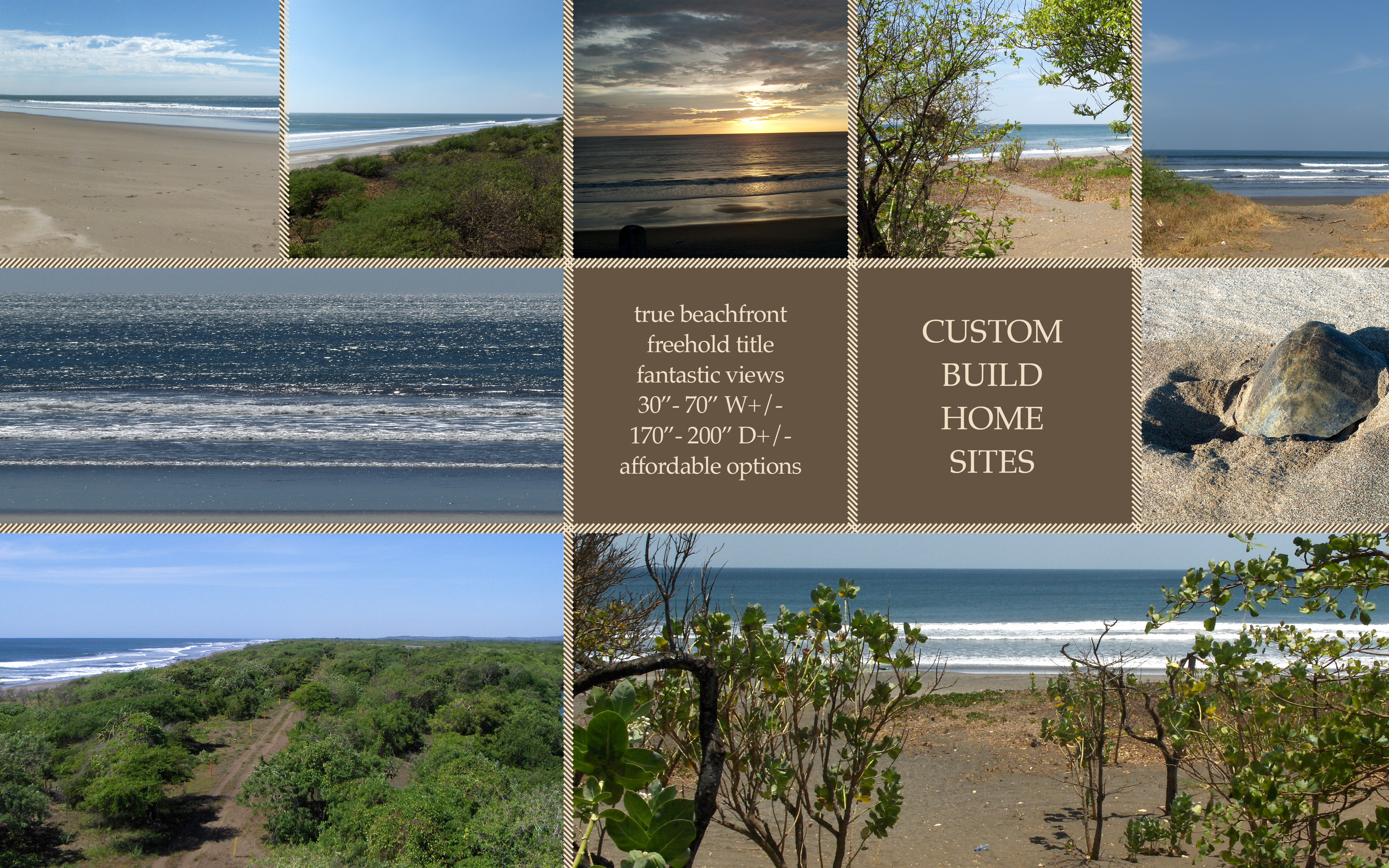 Isla Mariana Custom Home Sites in Nicaragua