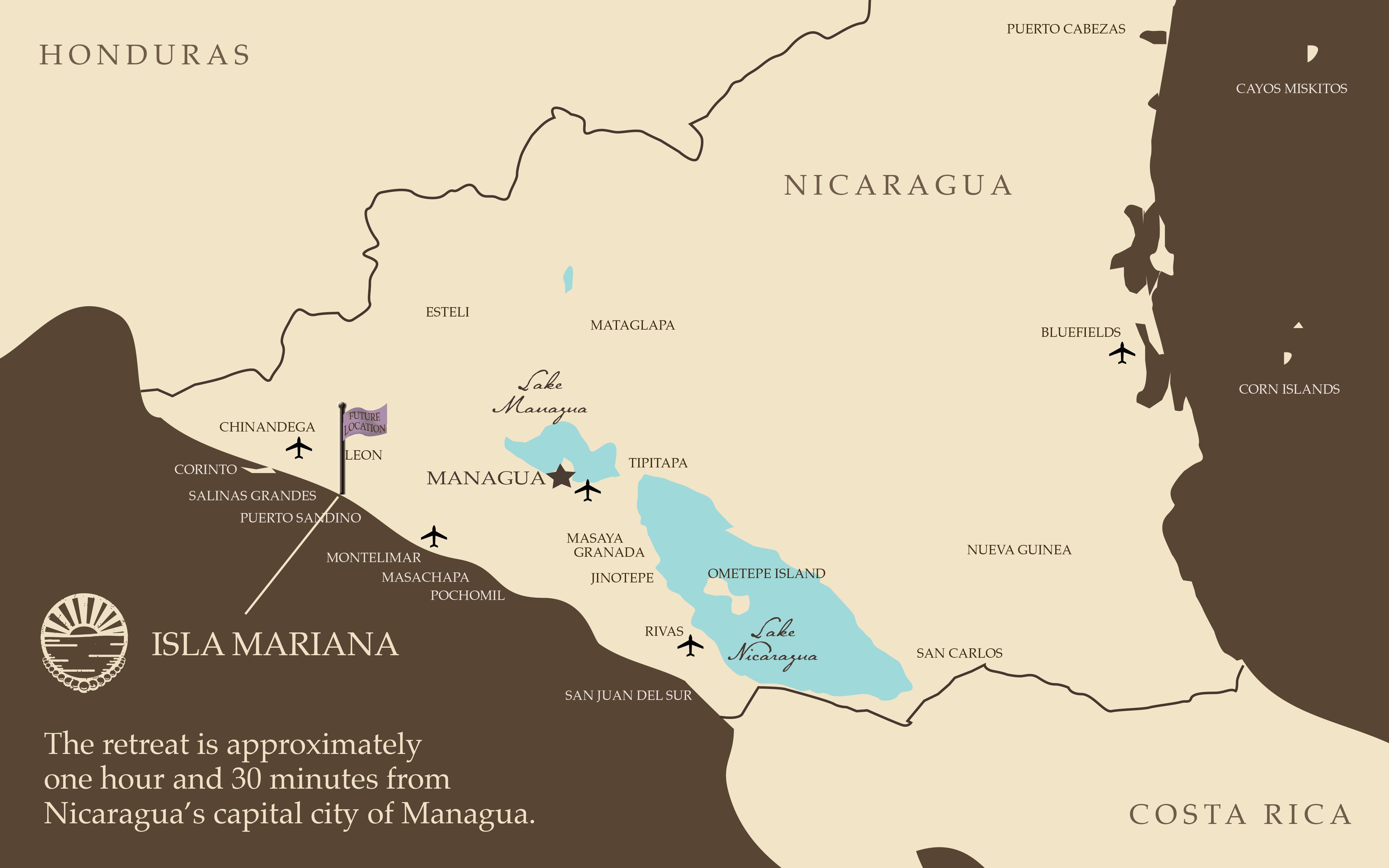 Isla Mariana Beachfront Retreat in Nicaragua